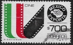 Sellos de America - México -  México Exporta Cine