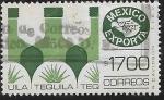 sellos de America - México -  México Exporta Tequila