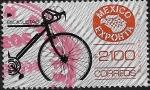 Sellos del Mundo : America : México : México Exporta Bicicletas