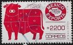 Sellos del Mundo : America : México :  México Exporta Ganado y Carne