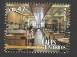 Sellos de Europa - Portugal -  Caféss históricos:Arcada, Evora