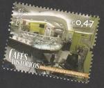 Stamps Portugal -  Caféss históricos: Athanasio, Angra do Heroismo