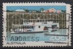 Sellos del Mundo : Oceania : Australia : VAPOR  DE  PASAJEROS  CANBERRA