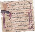Stamps United Kingdom -  ESCRITO