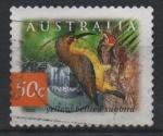 Sellos del Mundo : Oceania : Australia : SUNBIRD  BELLIED  AMARILLO