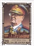 Stamps North Korea -  MARISCAL JOSIP BROZ TITO