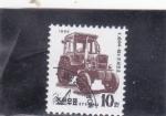 Stamps North Korea -  TRACTOR