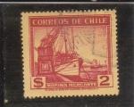 Stamps : America : Chile :  MARINA MERCANTE
