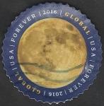 sellos de America - Estados Unidos -  4867 - La Tierra