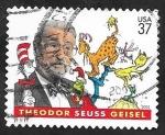 sellos de America - Estados Unidos -  3542 - Centº del nacimiento del ilustrador Theodor Seuss Geisel