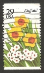 Stamps United States -  2157 - Flor narciso
