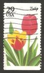 Stamps United States -  2158 - Flor tulipán
