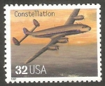 Sellos de America - Estados Unidos -  2622 - Avión Constellation