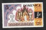 Stamps : America : Dominica :  512 - 25 Anivº de la coronación de Elizabeth II