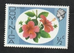 Stamps : America : Dominica :  447 - Hibiscus