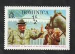 Stamps : America : Dominica :  396 - Centº del nacimiento de sir Winston Churchill