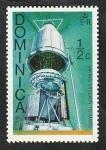 Stamps : America : Dominica :  487 - Misión de Viking a Marte