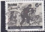 Sellos de Europa - Polonia -  40 ANIVERSARIO DEL LEVANTAMIENTO DE VARSOVIA