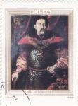 Stamps : Europe : Poland :  RETRATO DE JAN III SOBIESKI