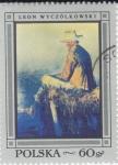 Stamps : Europe : Poland :  RETRATO