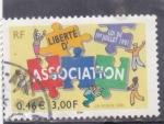 Sellos del Mundo : Europa : Francia : ASOCIACIÓN