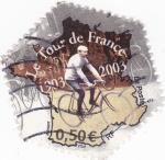 Sellos del Mundo : Europa : Francia : CENTENARIO EL TOUR DE FRANCIA