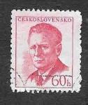 Sellos de Europa - Checoslovaquia -  871 - Antonín Novotný