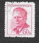 Stamps Czechoslovakia -  871 - Antonín Novotný