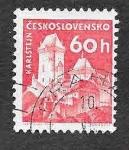 Stamps Czechoslovakia -  975 - Castillo de Karlstein