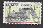 sellos de Europa - Checoslovaquia -  1829 - Cableado Ornamental