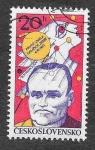 Sellos de Europa - Checoslovaquia -  2139 - 20º Aniversario del 1º Satélite Terrestre