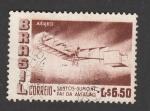 Stamps Brazil -  Santos Dumont, aviador
