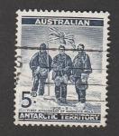 Stamps Oceania - Australian Antarctic Territory -  Primera vez en el polo magnético en 1908