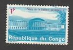 Stamps Democratic Republic of the Congo -  Palacio de la Nación en Leopoldville