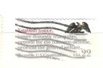 Sellos del Mundo : America : Estados_Unidos :  RESERVADO preambulo constitución