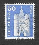 Stamps Switzerland -  390 - Puerta Spalen