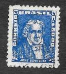 Stamps Brazil -  801 - José Bonifácio de Andrada e Silva