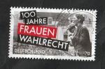 Stamps Europe - Germany -  3213 - Centº del sufragio femenino