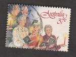 Stamps Australia -  Coro