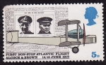 Stamps United Kingdom -  Travesia sin escalas del Atlantico