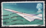 Stamps United Kingdom -  Concorde