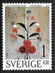sellos de Europa - Suecia -  Decoracion de pared