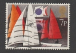 Stamps United Kingdom -  Regatas veleros