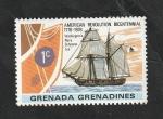 Stamps : America : Grenada :  158 - Barco Schooner ¨Lee´´