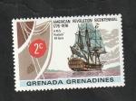 Stamps : America : Grenada :  159 - Barco H.M.S. ¨Roebuck¨