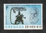 Stamps : America : Grenada :  185 - Graham Bell, teléfono de 1895