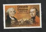 Stamps : America : Grenada :  76 - Bicentenario de la independencia de Estados Unidos