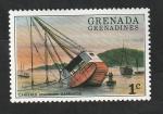 Stamps : America : Grenada :  140 - Barco encallado