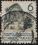 Sellos de America - México -  Monumento conmemorativo del camino México a Guadalajara