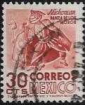 Sellos del Mundo : America : México : Michoacán, Danza de los Moros